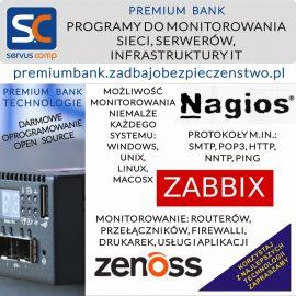 PROGRAMY DO MONITOROWANIA SIECI SERWERÓW NAGIOS ZABBIX ZENOSS Servus Comp Kraków