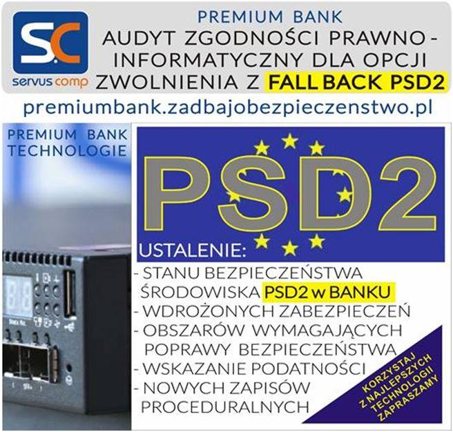 Audyt Zgodności Bezpieczeństwa Środowiska PSD2
