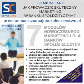 JAK PROWADZIĆ SKUTECZNY W BANKU SPÓŁDZIELCZYM