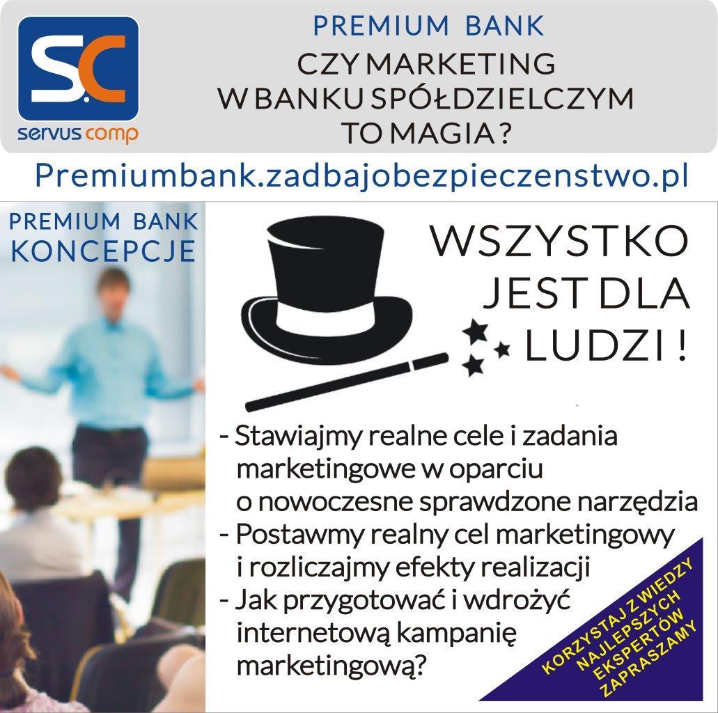 CZY MARKETING W BANKU SPÓŁDZIELCZYM TO MAGIA